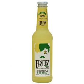 Freez Mix Carbonated Pineapple And Coconut Flavoured Drink 275Ml
