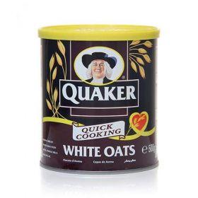 Quaker White Oats (Tin) 500 Gm