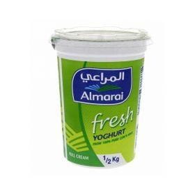 Almarai Fresh Yoghurt Full Fat 500 Gm