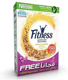 Nestle Fitness Honey Almond 355 Gm