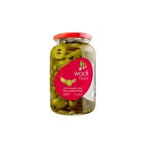 Wadi Food Sliced Jalapeno Peppers 1Kg