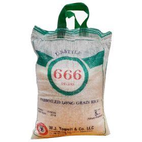 666 Parboiled Rice 5 Kg