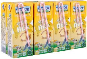 Lacnor Essentials Banana Flavoured Milk 8 X 180Ml