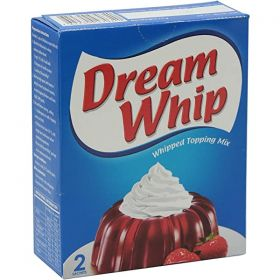 Dream whip whipped topping mix 2 sachets, 72gm.