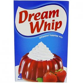 Dream Whip, whipped topping mix, 4 sachets, 144Gm