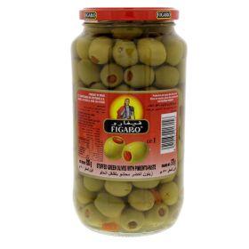 Figaro Plain Green Olives 575Gm