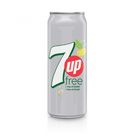 7UP sugar free 325 ml