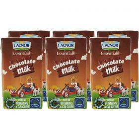 Lacnor Essentials Chocolate Flavoured Milk 6 X 125Ml
