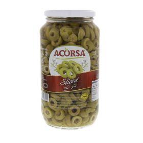 Acorsa Green Sliced Olives 450GM