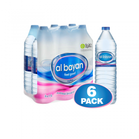 Al Bayan Water 1.5L X 6 Pcs