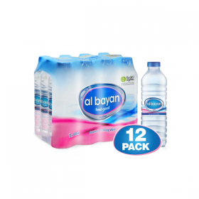 Al Bayan Water 500Ml X 12 Pcs