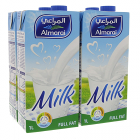 Almarai Long Life Full Fat 1Ltr x 4