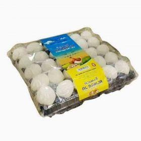 Al Bahja Fresh Eggs White 30Pcs