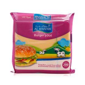 Al Rawabi Slice Cheese Burger 10 Slices