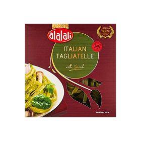 Al Alali Italian Tagaliatelle With Spinach 450 Gm