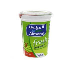 Almarai Fresh Yoghurt Low Fat 500 Gm