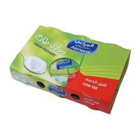 Almarai Fresh Yoghurt Low Fat 6 X 170 Gm