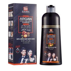 Argan Speedy Black Hair Color Shampoo 420Ml