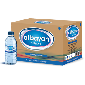 Al Bayan Water 330Ml X 24 Pcs