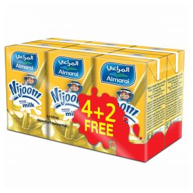 Almarai Nijoom Uht Banana Milk 6 X 150Ml