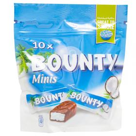 Bounty Minis Chocolate 10 Pcs 285 Gm