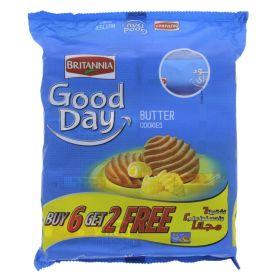 Britannia Good Day Butter Cookies 8 x 81g