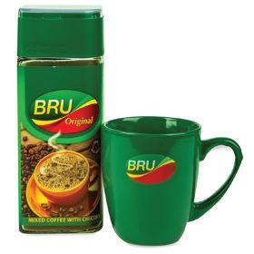 Bru Coffee Original 200Gm + Mug Free