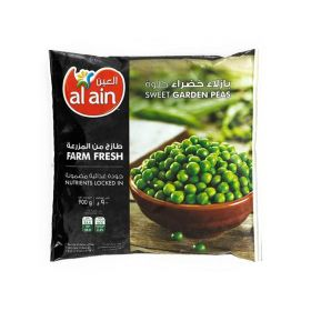 Al Ain Frozen Garden Peas 900Gm
