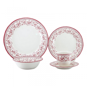 Claytan Aster Pk Dinner Set 30 Pc