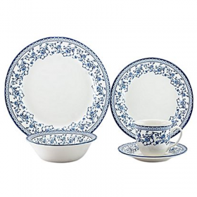 Claytan French Blue Dinner set 20 Pc