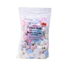 Color Cotton Balls 100% Pure Cotton 100Pcs