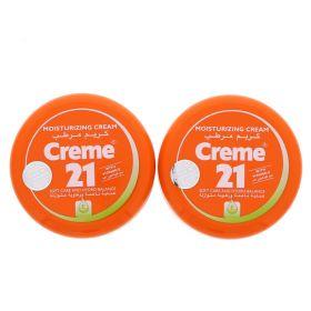 Creme 21 Moisturizing Cream 2 X 150 Ml
