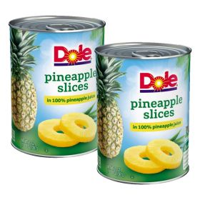 Dole Pineapple Slice 2 X 567 Gm