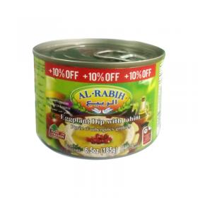 Al Rabih Eggplant Dip (Baba Ghanouj) 185 Gm