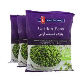 Emborg, emborg garden peas, green peas, frozen green peas,  frozen food, frozen vegetables