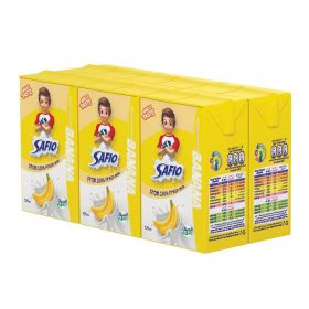Safio UHT Banana Milk 6 X 125Ml