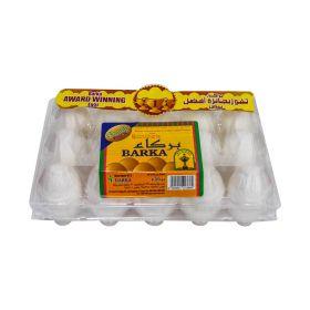 Barka Omani White Eggs Large 15 Pcs