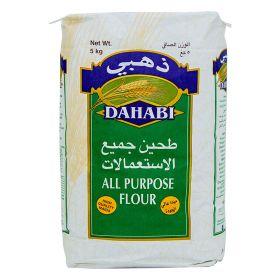 Dahabi all purpose flour, 5 Kg.