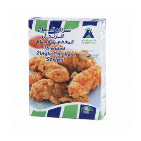 A'Saffa Breaded Zingle Chicken Popcorn 400Gm