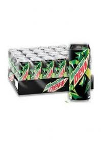 Mountain Dew Carbonated Soft Drink Pet 24 X 250Ml