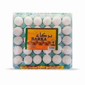 Barka Omani White Eggs Large 30 Pcs