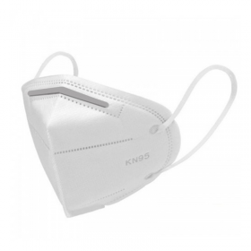 KN95 face mask, respirator mask, two piece, white