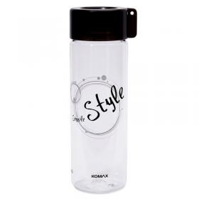 Komax Water Bottle Style 550ml Black