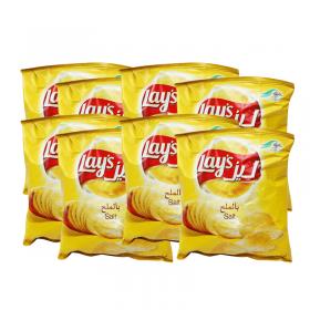 Lays Chips Salt 14 Gm 21 Pcs