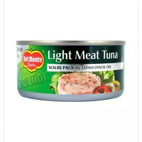 Delmonte Light Meat Tuna Solid 3 + 1 X 185 Gm