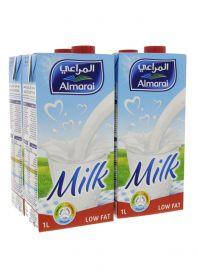 Almarai Long Life Low Fat Milk 4 X 1Litre