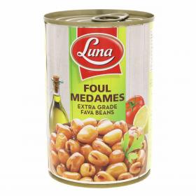 Luna Foul Medames Fava Beans 400g