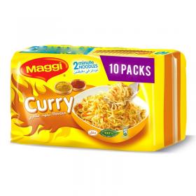 Maggi 2M Noodle Curry 10 Pcs 79 Gm