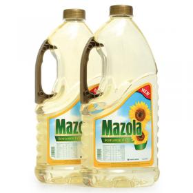 Mazola Sunflower Oil 2 Pcs 1.8 Litre