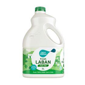Mazoon Fresh Laban Full Fat 2 Ltr